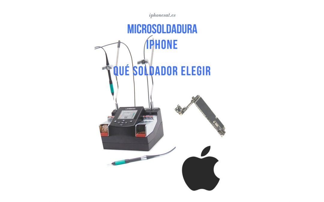 Estación de soldadura para reparar iPhone, recomendaciones